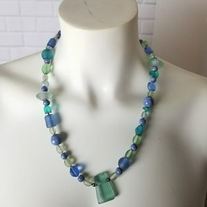 Jewelry - Possibly Vintage Blue Stone Necklace